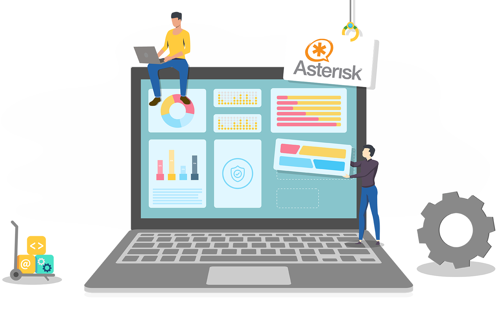 Asterisk support